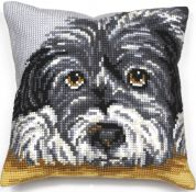 Collection dArt Cross Stitch Cushion Kit Faithful