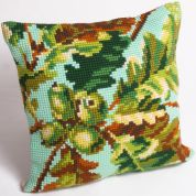 Collection dArt Cross Stitch Cushion Kit Acorn