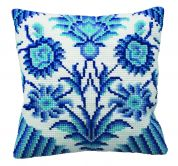 Collection dArt Cross Stitch Cushion Kit Zelliges Right