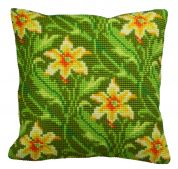 Collection dArt Cross Stitch Cushion Kit Myrtle Left