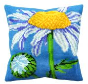 Collection dArt Cross Stitch Cushion Kit Marguerite