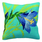 Collection dArt Cross Stitch Cushion Kit Wild Lily