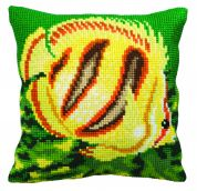 Collection dArt Cross Stitch Cushion Kit Exotic Fish Right