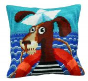 Collection dArt Cross Stitch Cushion Kit Sailor