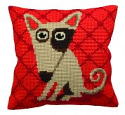 Collection dArt Cross Stitch Cushion Kit Droopy