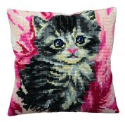 Collection dArt Cross Stitch Cushion Kit Mistigri