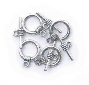 Craft Factory Toggle Clasp Jewellery Findings  Silver