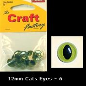 Craft Factory Cat & Toy Safety Craft Eyes