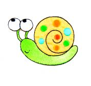 Craft Factory Iron or Sew On Fabric Motif Applique Snail