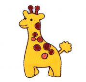 Craft Factory Iron or Sew On Fabric Motif Applique Giraffe
