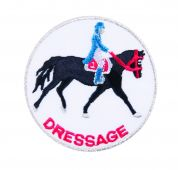 Craft Factory Iron or Sew On Fabric Motif Applique Dressage Badge
