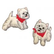 Craft Factory Patch Motif Westies