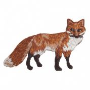 Craft Factory Iron or Sew On Fabric Motif Applique Fox