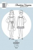 Christine Haynes Ladies Easy Sewing Pattern 1001 Derby Dress