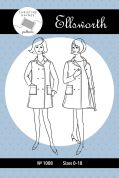 Christine Haynes Ladies Sewing Pattern 1008 Ellsworth Coat