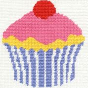 DMC Childrens Beginner Tapestry Kit Cupcake
