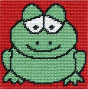 DMC Childrens Beginner Tapestry Kit Groovy Frog