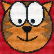 DMC Childrens Beginner Tapestry Kit Cool Cat