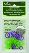 Clover Soft Ring Knitting Stitch Markers