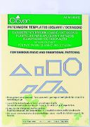 Clover Patchwork & Quilting Templates Square & Octagon