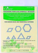 Clover Patchwork & Quilting Templates Triangle & Hexagon