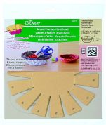 Clover Oval Basket Frame Template
