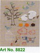 Clover Hand Embroidery Pattern Animal Designs