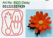 Clover Needle Felting Plastic Shaped Applique Mould Daisy