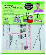 Clover Trace n Create Bag Template Sewing Patterns Hobo