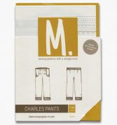 Compagnie M. Childrens Sewing Pattern The Charles Pants, Shorts & Dungarees