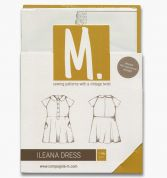 Compagnie M. Girls Sewing Pattern The lleana Dress