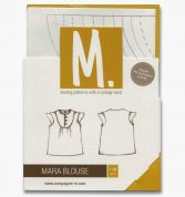Compagnie M. Girls Sewing Pattern The Mara Blouse