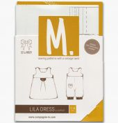 Compagnie M. Baby & Toddlers Sewing Pattern The Lila Dress & Jumpsuit