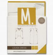 Compagnie M. Ladies Sewing Pattern The Louisa Dress