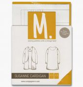 Compagnie M. Ladies Sewing Pattern The Susanne Cardigan