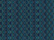 Timeless Treasures Diamond Geo Metallic Poplin Quilting Fabric