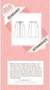 Colette Ladies Sewing Pattern 1005 Beignet Skirt