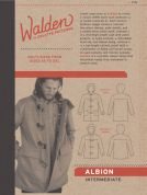 Colette Mens Sewing Pattern 2002 Albion Duffle Coat