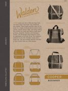 Colette Accessories Easy Sewing Pattern 2003 Cooper Bag