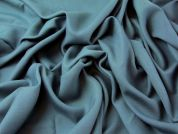 Soft Viscose Twill Suiting Dress Fabric  Teal