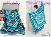 Stylecraft Cosmic Cal Blanket Yarn Pack Peace & Tranquility