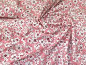 Cotton Poplin Fabric  Pink