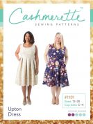 Cashmerette Ladies Plus Size Easy Sewing Pattern Upton Dress