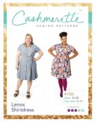 Cashmerette Ladies Plus Size Sewing Pattern Lenox Shirtdress