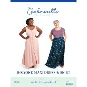 Cashmerette Sewing Pattern Holyoke Dress & Skirt