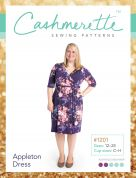 Cashmerette Ladies Plus Size Easy Sewing Pattern Appleton Dress