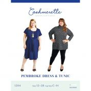 Cashmerette Sewing Pattern Pembroke Dress & Tunic