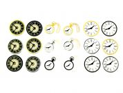 Clock Face Sticker Embellishments