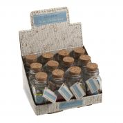 Wooden Buttons in a Jar  Brights