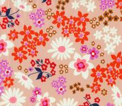 Cotton and Steel Cotton Lawn Fabric  Pink